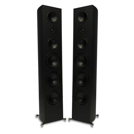 R-55 Tower Speaker Black Matt