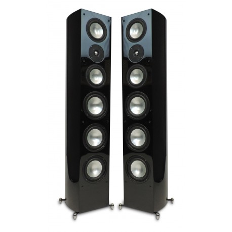 R-55E Tower Speaker Black Matt