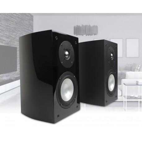 R-5E Bookshelf Speaker Black Matt