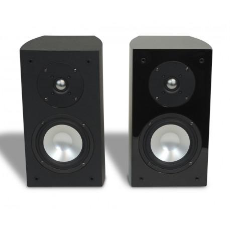 R-5E Bookshelf Speaker Black Gloss