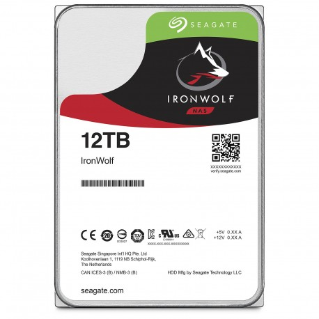 Seagate Ironwolf 12To pour Zappiti NAS