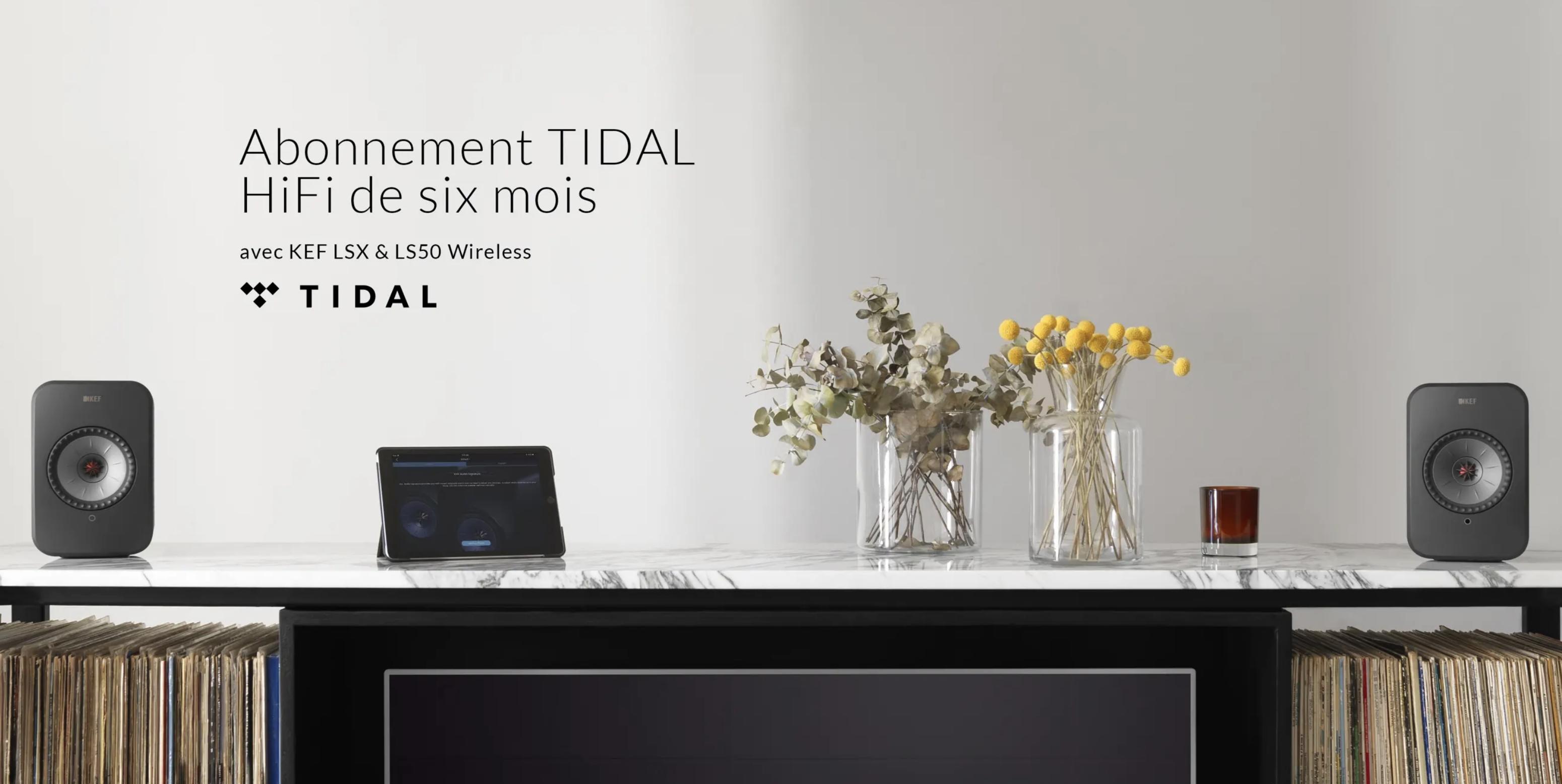 Abonnement Tidal
